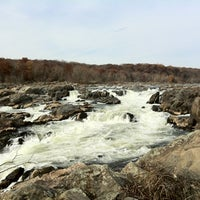 Photo taken at Great Falls Park by Matthew H. on 11/13/2011