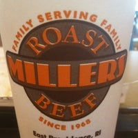 Photo taken at Miller's Roast Beef - South Attleboro by Jeff G. on 9/5/2011