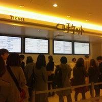 Photo taken at Shinjuku Piccadilly by Sakura O. on 10/19/2011