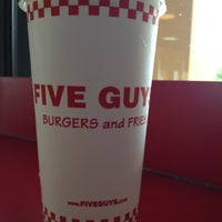 Photo taken at Five Guys by John M. on 6/25/2012