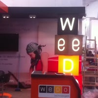 Photo taken at WeDo Technologies #MWC12 Stand H1-J31 #BSSOSS by Carlos M. on 2/26/2012