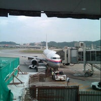 Photo taken at Gate 12 by Fariz S. on 12/27/2011