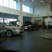Photo taken at North County Ford by Cathie L. on 9/20/2011