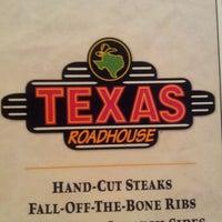 Photo taken at Texas Roadhouse by Matthew H. on 3/4/2012