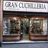 Photo taken at Gran Cuchilleria by Demos B. on 1/10/2012