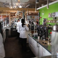 Photo taken at Portola Coffee Roasters by Tim M. on 4/27/2012