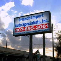 Photo taken at Orlando Import Auto Specialists, inc. by Thomas O. on 2/14/2012