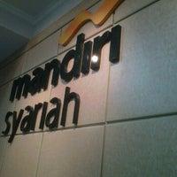Photo taken at mandiri syariah by Muhammad B. on 6/2/2012