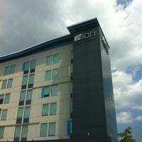 Photo taken at Aloft Winchester by Andrea N. on 7/19/2012