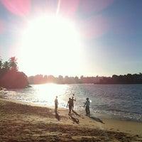 Photo taken at Praia da Direita by Paula V. on 6/29/2012