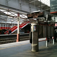 Photo taken at Platform 5 by Graham P. on 3/16/2012