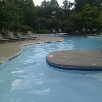 Photo taken at The P@V Pool by Charles S. on 8/13/2011