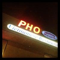 Photo taken at Pho Saigon Pasteur Vietnamese Noodle House by David L. on 11/9/2011