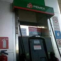Photo taken at Gasolinera Pemex by Vettho M. on 7/4/2012