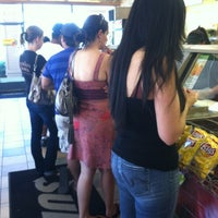 Photo taken at SUBWAY by Jessica w/ E. on 5/28/2012