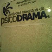Photo taken at Sociedad Mexicana de Psicodrama by Roberto R. on 12/29/2011
