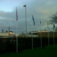 Photo taken at Blessed Edward Jones Catholic High School by Abbey C. on 12/15/2011