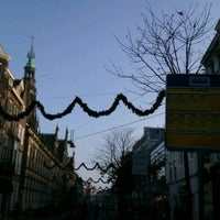 Photo taken at Halte Breestraat by Euthymia K. on 11/18/2011