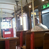 Photo taken at CATS Gold Rush Trolley Bus by Kristina on 3/9/2012