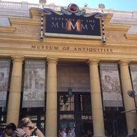 Photo taken at Revenge Of The Mummy by Jen L. on 4/6/2012