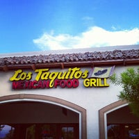 Photo taken at Los Taquitos by Nicholas P. on 8/1/2012
