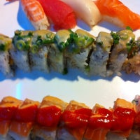 Photo taken at Samurai Sushi by Paul H. on 8/12/2012