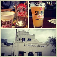 Photo taken at Spoetzl Brewery by Hannah H. on 3/8/2012