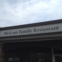 Photo taken at McLean Family Restaurant by Robin T. on 7/12/2012