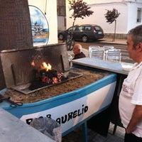 Photo taken at Terraza de Bar Aurelio - Mérida by Arild H. on 6/29/2012