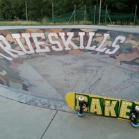 Photo taken at Skatepark - bowl by ValenTina V. on 7/16/2012