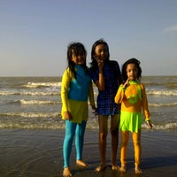 Photo taken at Pantai Pakis Jaya by Putut N. on 7/1/2012