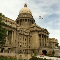 Photo taken at Idaho State Capitol by Matthew L. on 8/4/2011