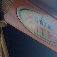 Photo taken at Cafe NITRO by Vasileios P. on 8/25/2012