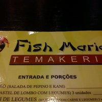 Photo taken at Fish Maria by Lucia G. on 2/9/2012