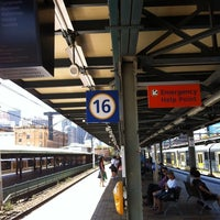 Photo taken at Central Station (Platforms 16 & 17) by Lachy F. on 1/30/2011