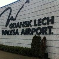 Photo taken at Gdańsk Lech Wałęsa Airport (GDN) by Jaroslaw M. on 11/27/2011