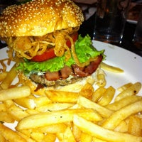 Photo taken at New York Style Steak & Burger by Jammie T. on 8/5/2012