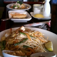 Photo taken at Chaba Thai Bistro by JoAnna H. on 2/24/2012