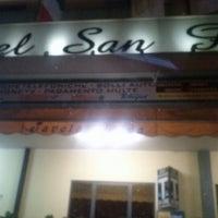 Photo taken at Ristorante San Pellegrino by Giomc505 ^. on 7/26/2012