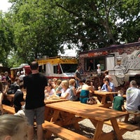 Photo taken at Fort Worth Food Park by Shannon J. on 5/13/2012