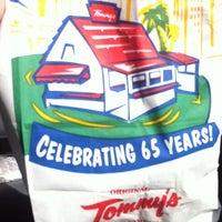 Photo taken at Original Tommy's Hamburgers by Marissa B. on 7/30/2011