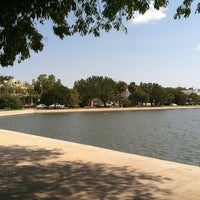 Photo taken at Colonial Lake by Alex K. on 9/12/2011