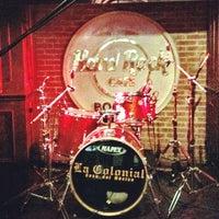 Photo taken at Hard Rock Cafe Bogota by Mirton P. on 11/24/2011