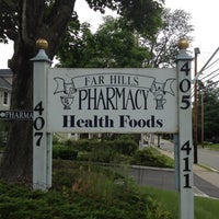 Photo taken at Far Hills Pharmacy by Andrea K. on 6/4/2012