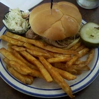 Photo taken at Red Hot & Blue  -  Barbecue, Burgers & Blues by Christopher T. on 5/7/2012