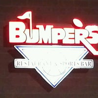 Photo taken at Bumpers Bar and Grill by Mike T. on 3/11/2012
