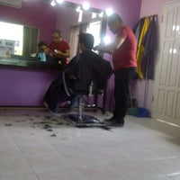 Photo taken at Lucky Salon by Ichal V. on 11/5/2011