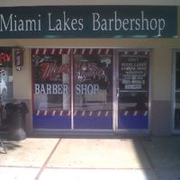 Photo taken at Miami Lakes Barber Shop by Lawrence W. on 12/26/2011