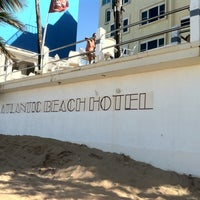 Photo taken at Atlantic Beach Hotel by Aaron M. on 4/4/2011