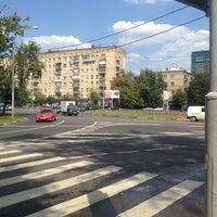 Photo taken at Площадь Ромена Роллана by Жека С. on 8/1/2012